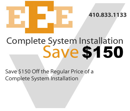 Save $150 on Complete System Installation